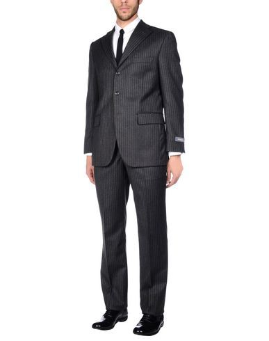ANGELO NARDELLI Men's Suit Steel grey 44 suit