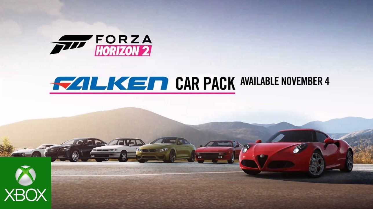 Forza Horizon 2: Falken Tire Car Pack