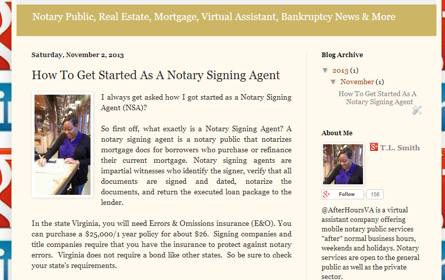 How To Get Started As A Notary Signing Agent http