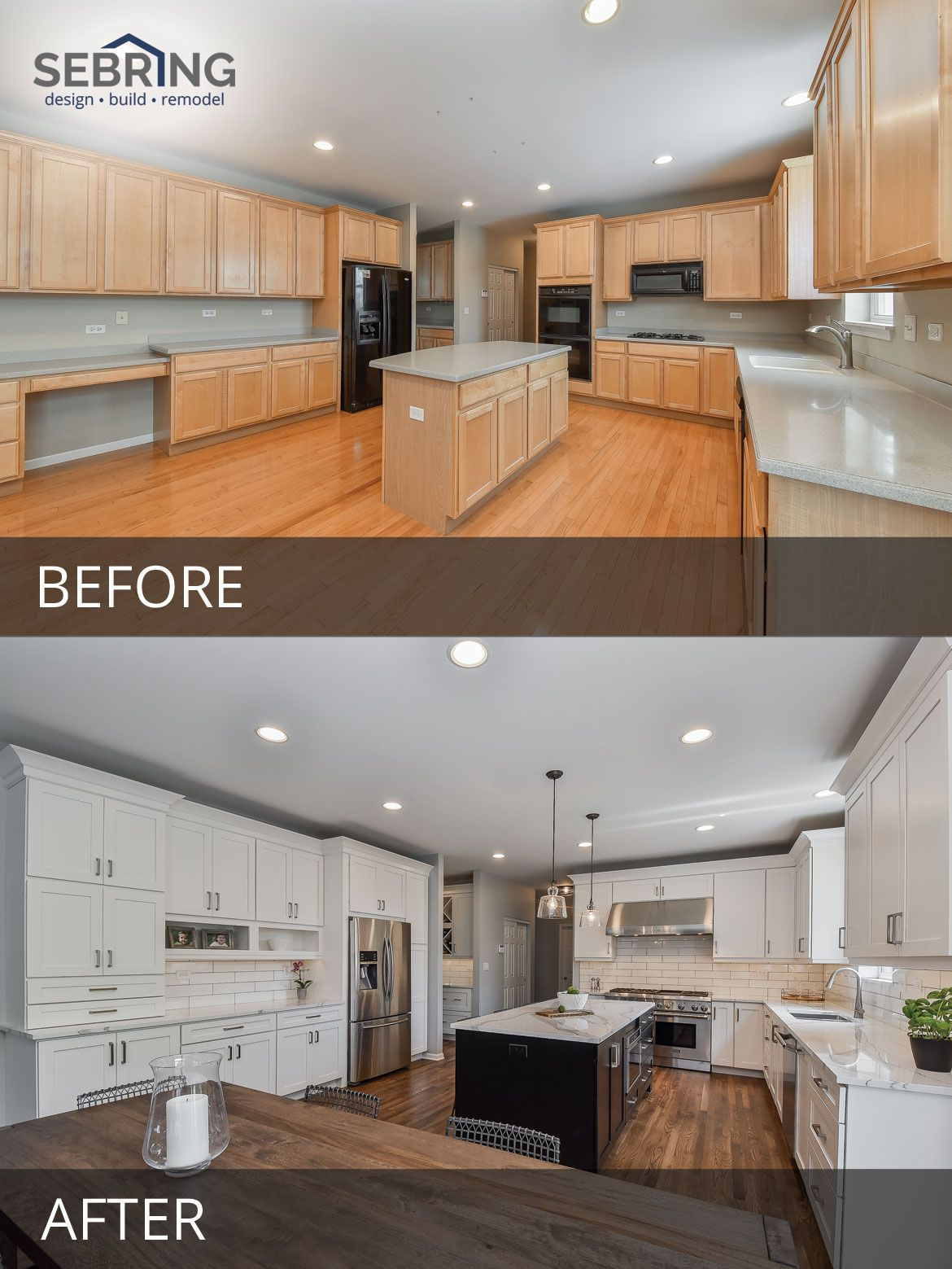 Kitchen Remodel Cost Where To Spend And How To Save On: Pete & Mary's Kitchen Before & After Pictures In 2019