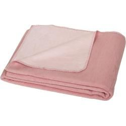Photo of Flauschige Baumwoll Wendedecke 150 x 200 cm zweifarbig, rosa chiaro/hellrosa YogaboxYogabox