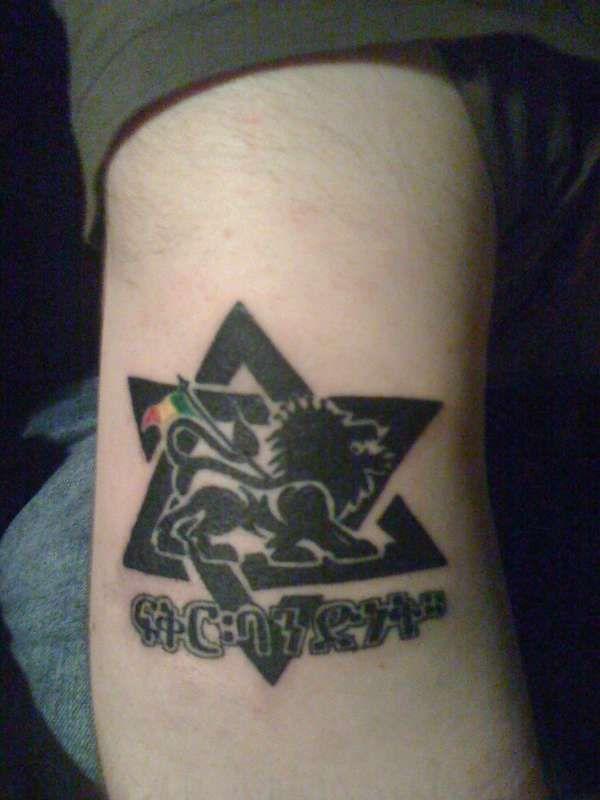 Small Star Of David Tattoo: Lion Of Judah Amp Star David Tattoo