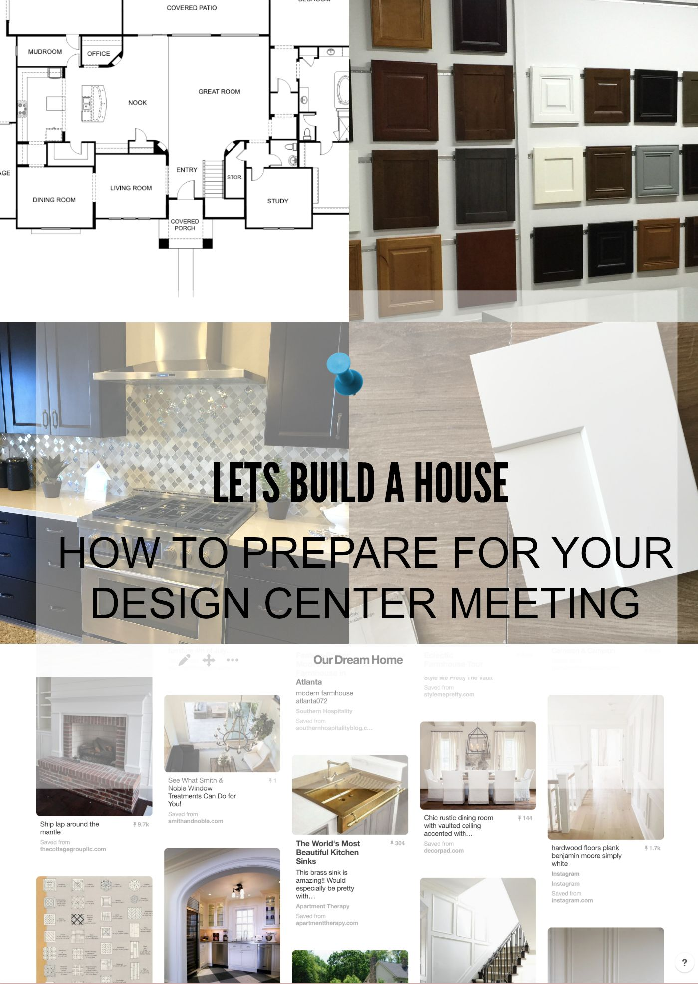 How To Prepare For Your Design Center Meeting American Home Design Home Building Tips Building A House Checklist