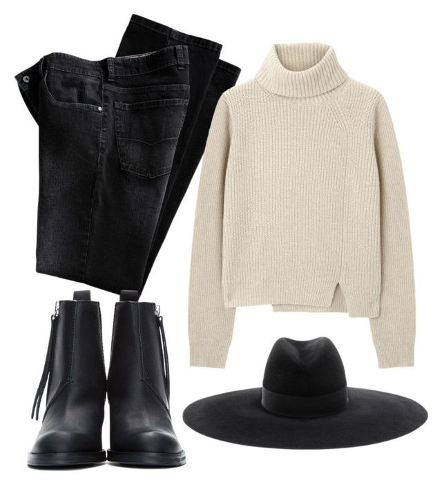 """"""","""" by dallarivas ❤ liked on Polyvore featuring Acne Studios, Proenza Schouler and Yves Saint Laurent"""