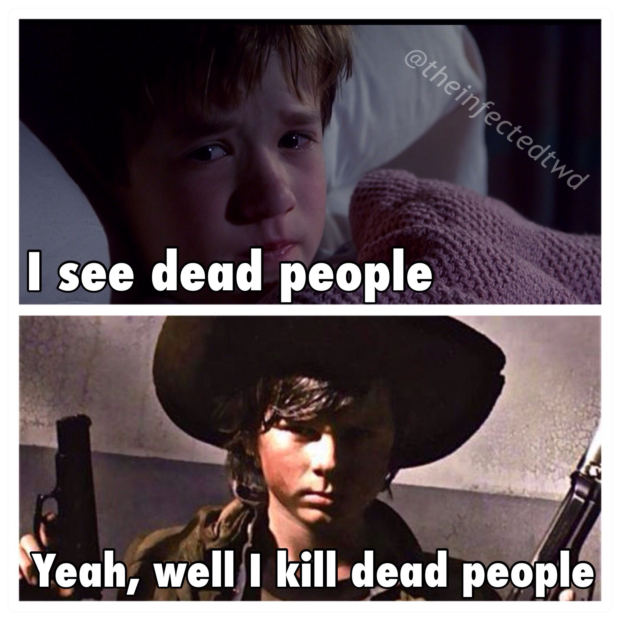 Carl Walking Dead Quotes. QuotesGram | Walking dead quotes ...