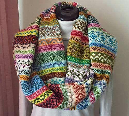 Restjes wol opruimen | breien sjaal | Pinterest | Adventskalender ...