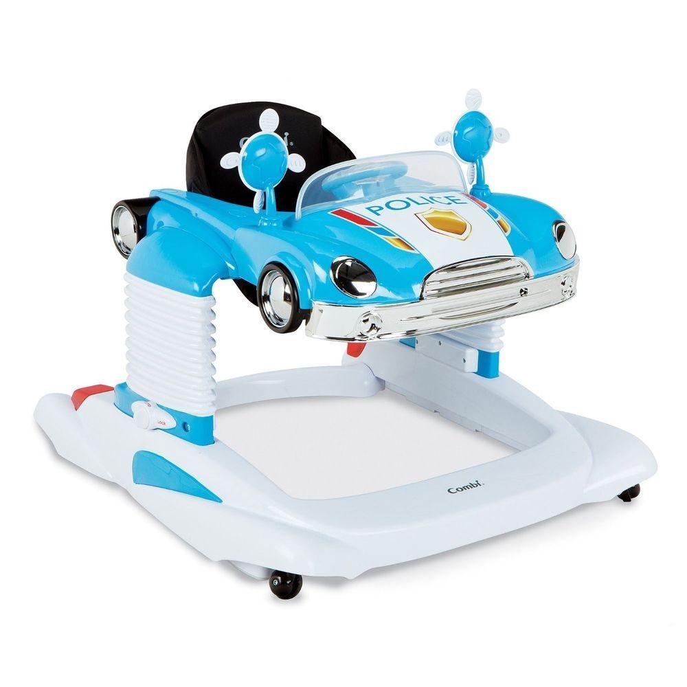Baby Walker Police Car Lockable Jumper Bouncer Mobile