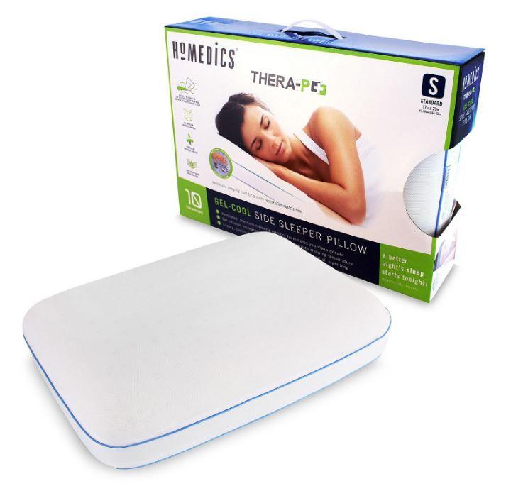Gel Memory Foam Side Sleeper Pillow