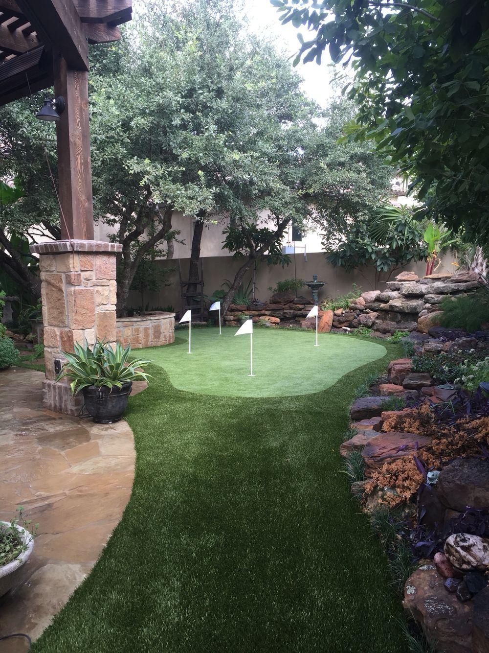 10 Plus Luxury Synlawn   Backyard putting green, Diy ... on Small Backyard Putting Green id=73416