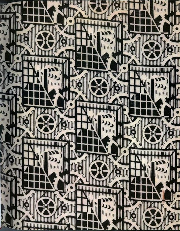 Can someone tell me more about the patterns of Chintz cloth?