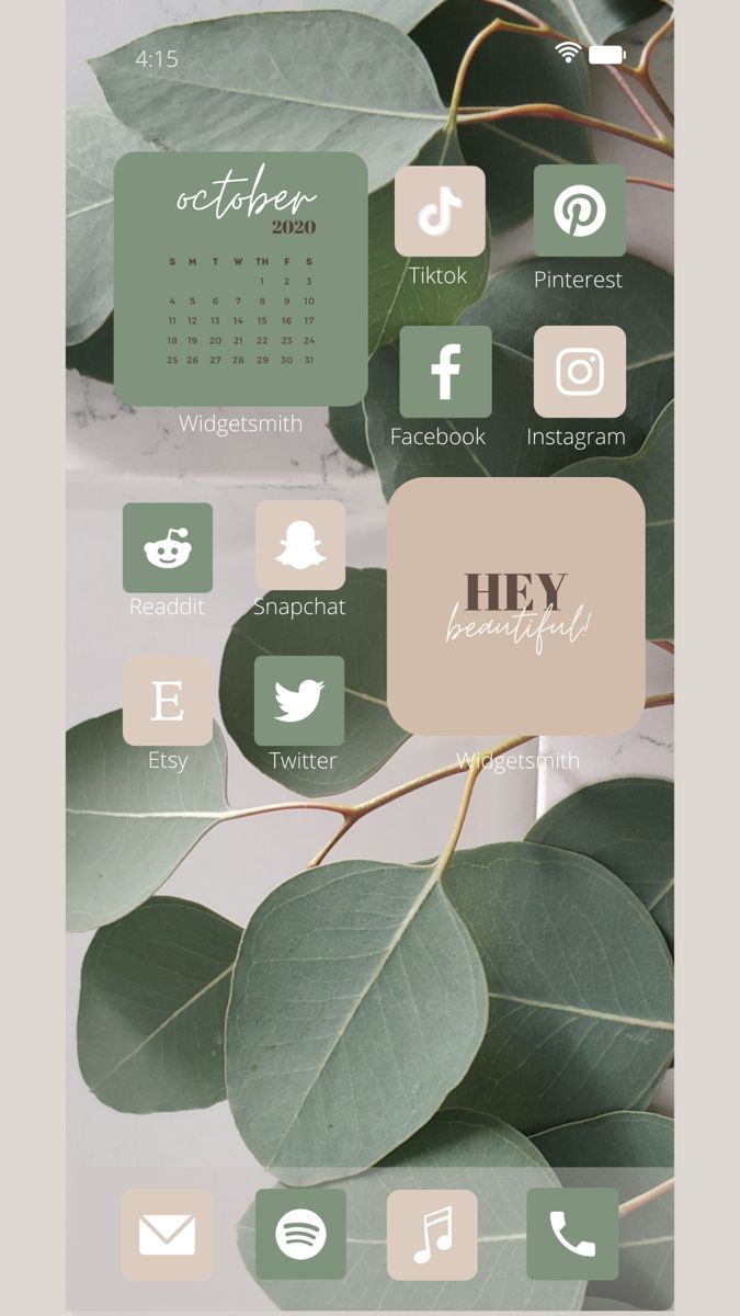 iOS 14 Neutral Aesthetic App Icons Pack | LaconicEarthling