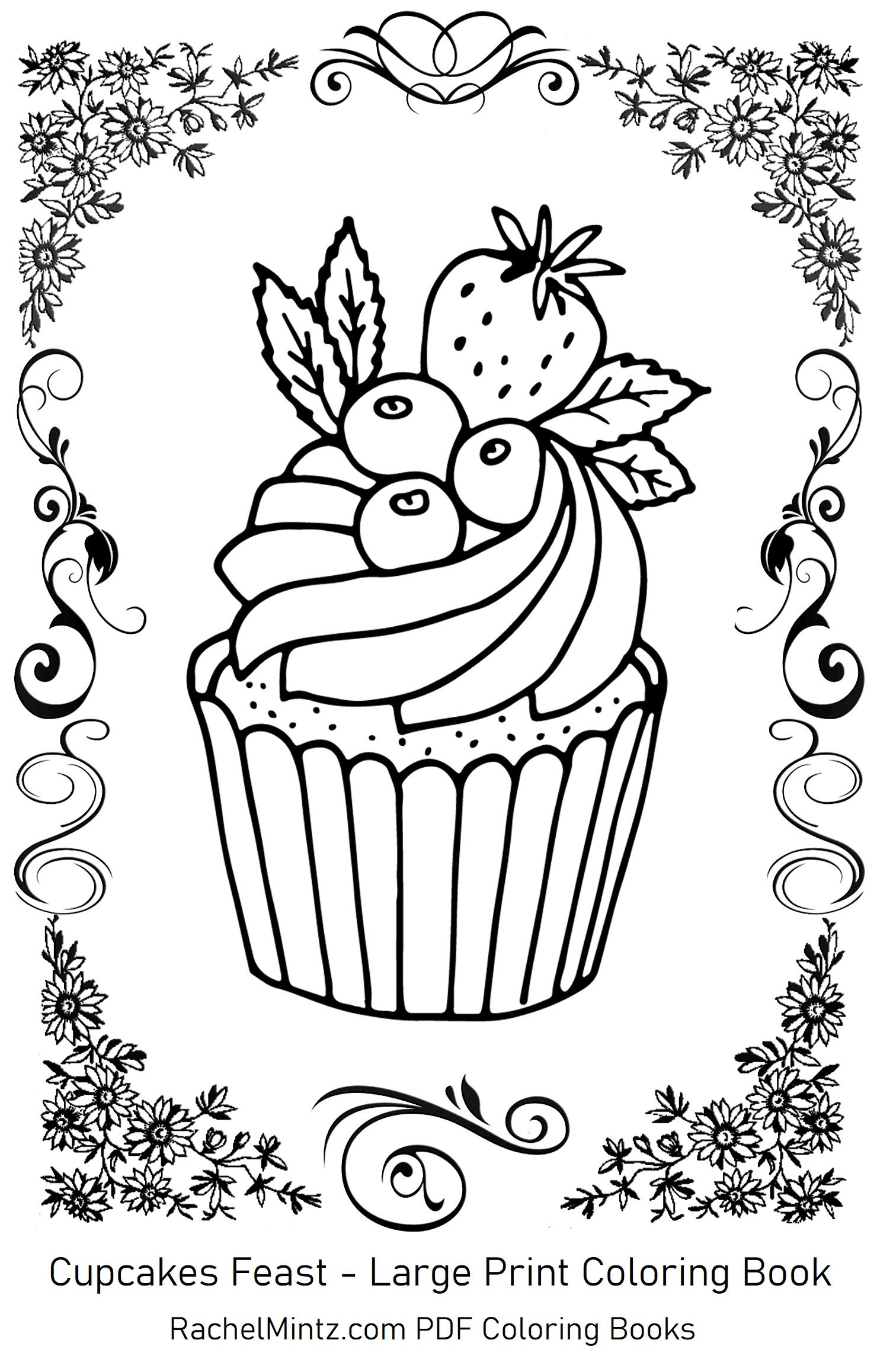 Easy Coloring Pages In Large Print Coloring Books Easy Coloring Pages Large Prints