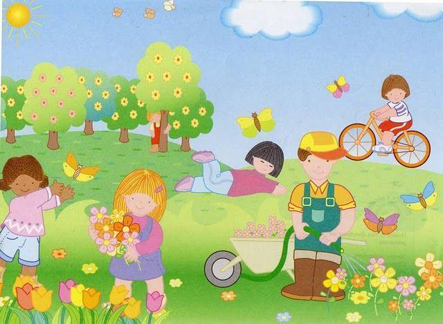 estacion primavera para niños - Buscar con Google | sandra | Pinterest