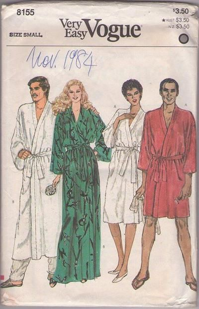 MOMSPatterns Vintage Sewing Patterns - Vogue 8155 Vintage 80\'s ...