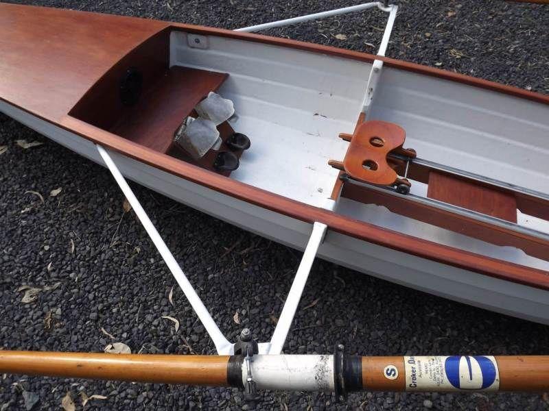 Rowing Shell / Skiff Kayaks & Paddle Gumtree Australia
