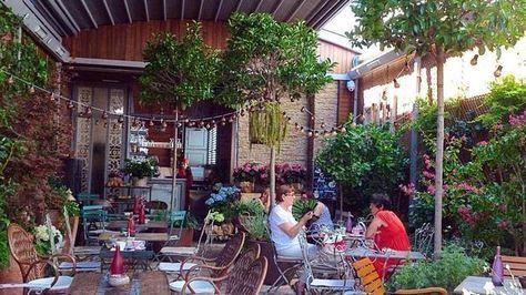 Jardin Secreto De Salvador Bachiller Madrid Sol Terrazas En