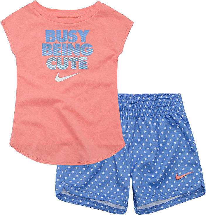 1fb3e7f81 Nike Su18 Toddler Sts 2-pack Short Set Toddler Girls | Products ...