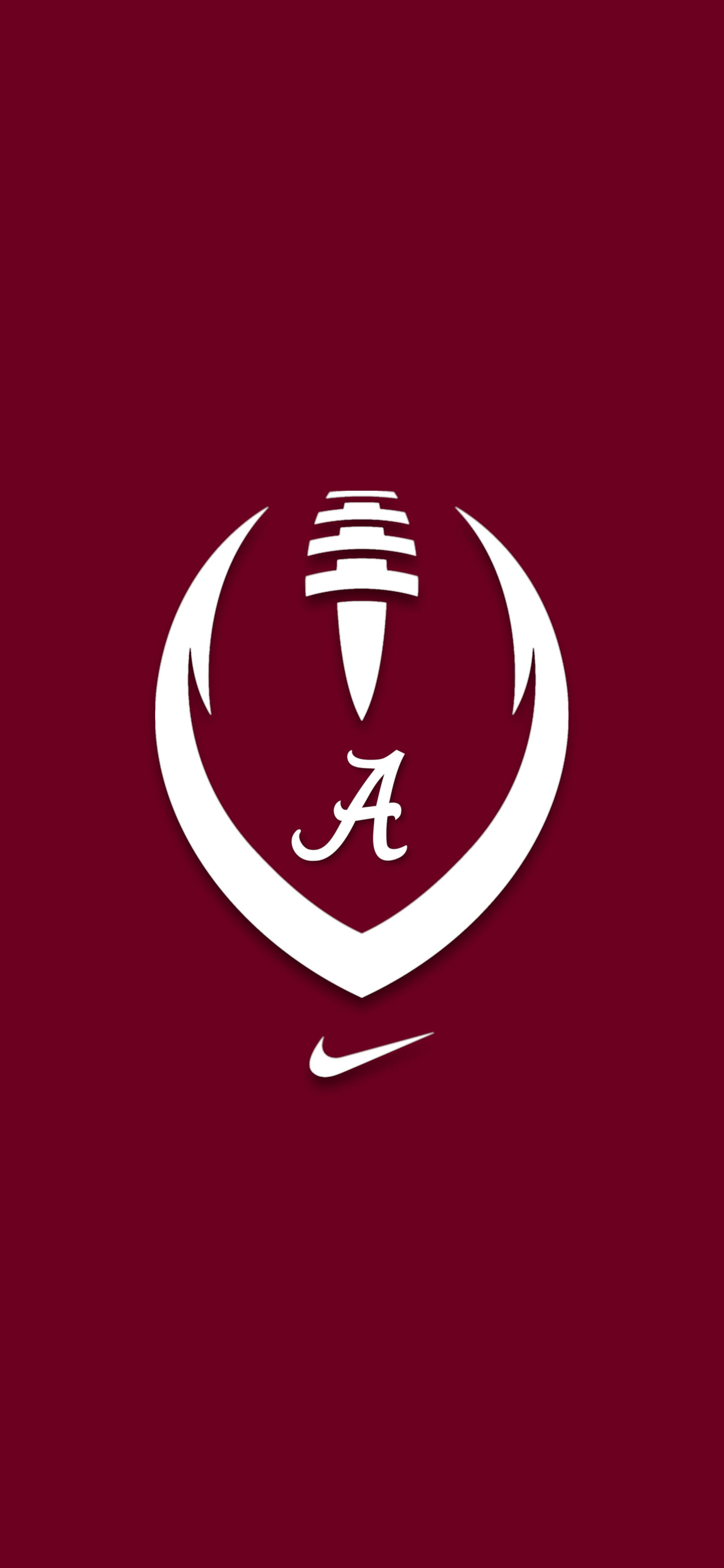 Nike Ball 3 Alabama Crimson Tide Logo Alabama Crimson Tide Football Wallpaper Tide Logo