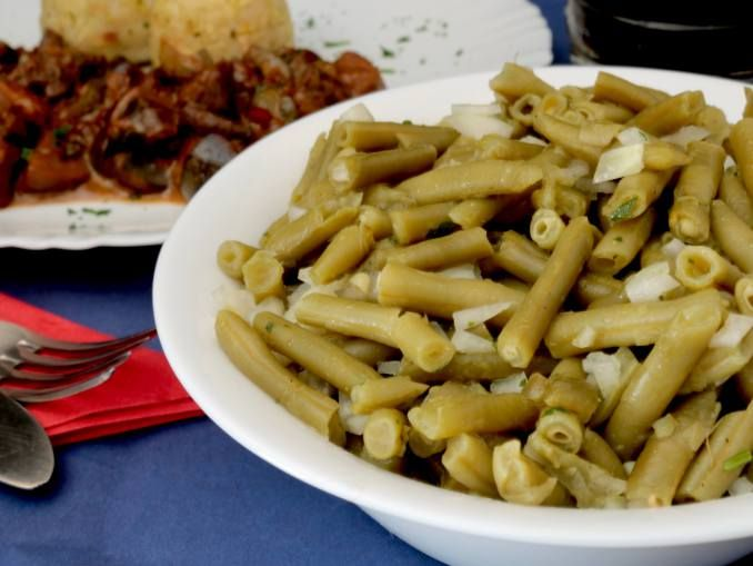 Home Cooking Fast Green Bean Salad - Trop paresseux pour cuisiner?