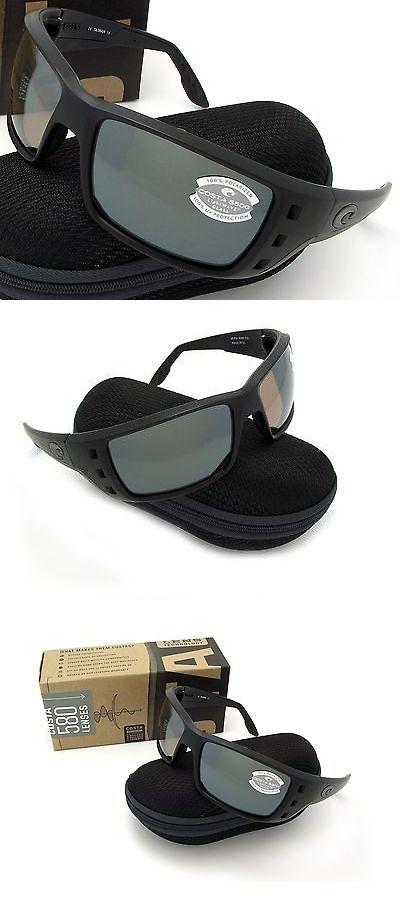 52b39110f5 Sunglasses 151543  New Costa Del Mar Permit Blackout And 580 Silver Mirror  Glass 580G -