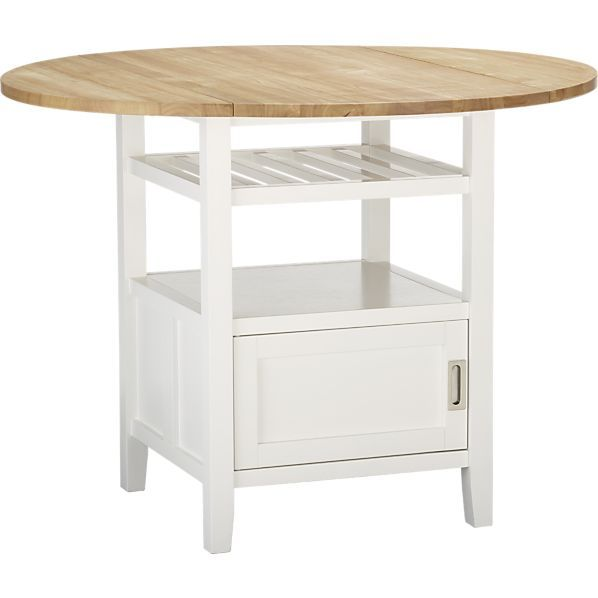 Belmont White High Dining Table In Dining, Kitchen Tables