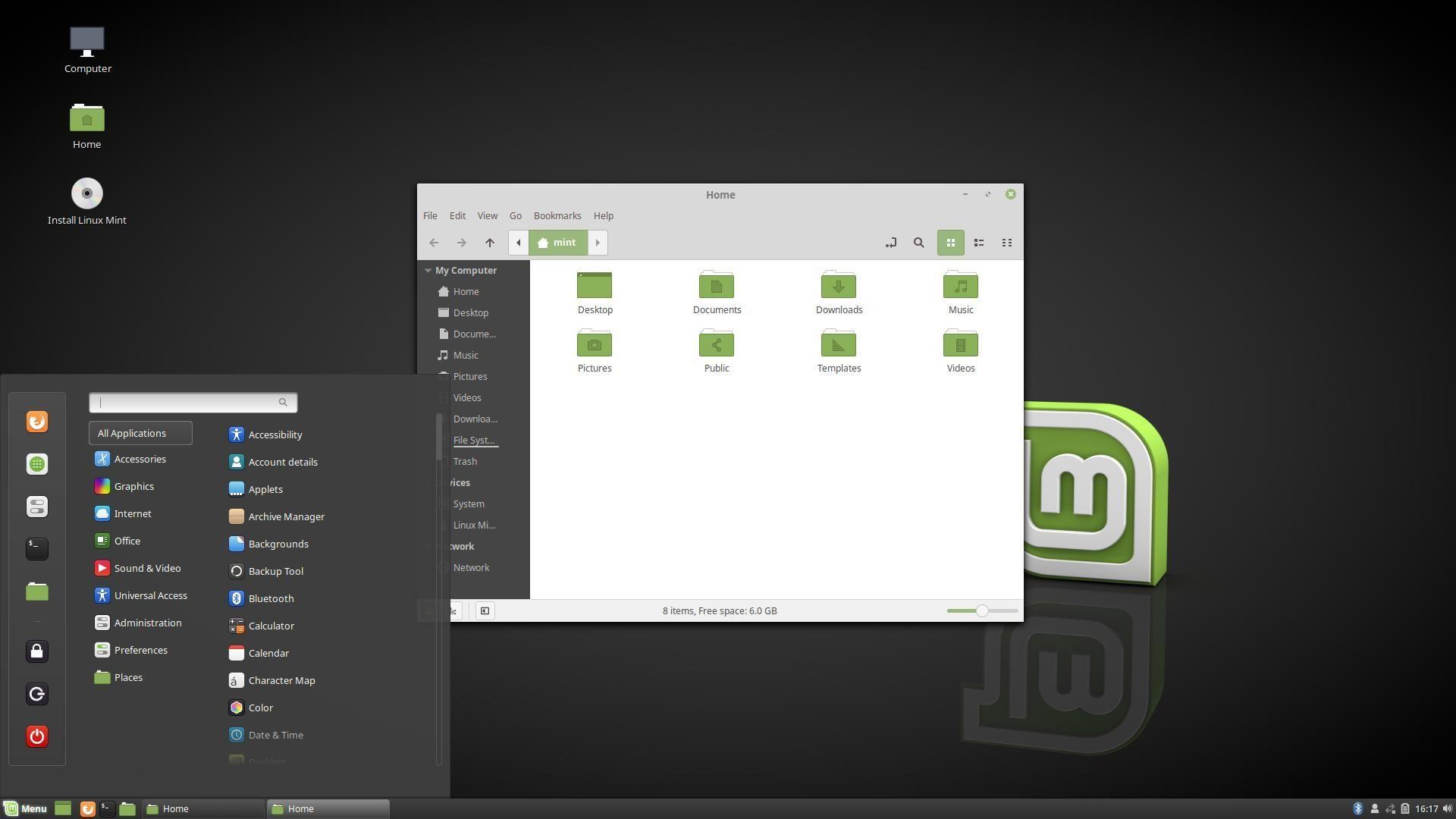 So Testen Sie Das Linux Das Aussieht Wie Windows 10 Linux Mint Linux Mint