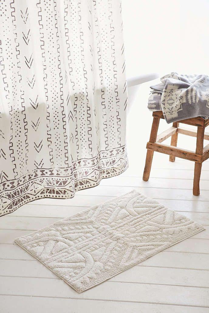graccioza - pebble - bath mat - white - zalando.co.uk | rugs, Hause ideen