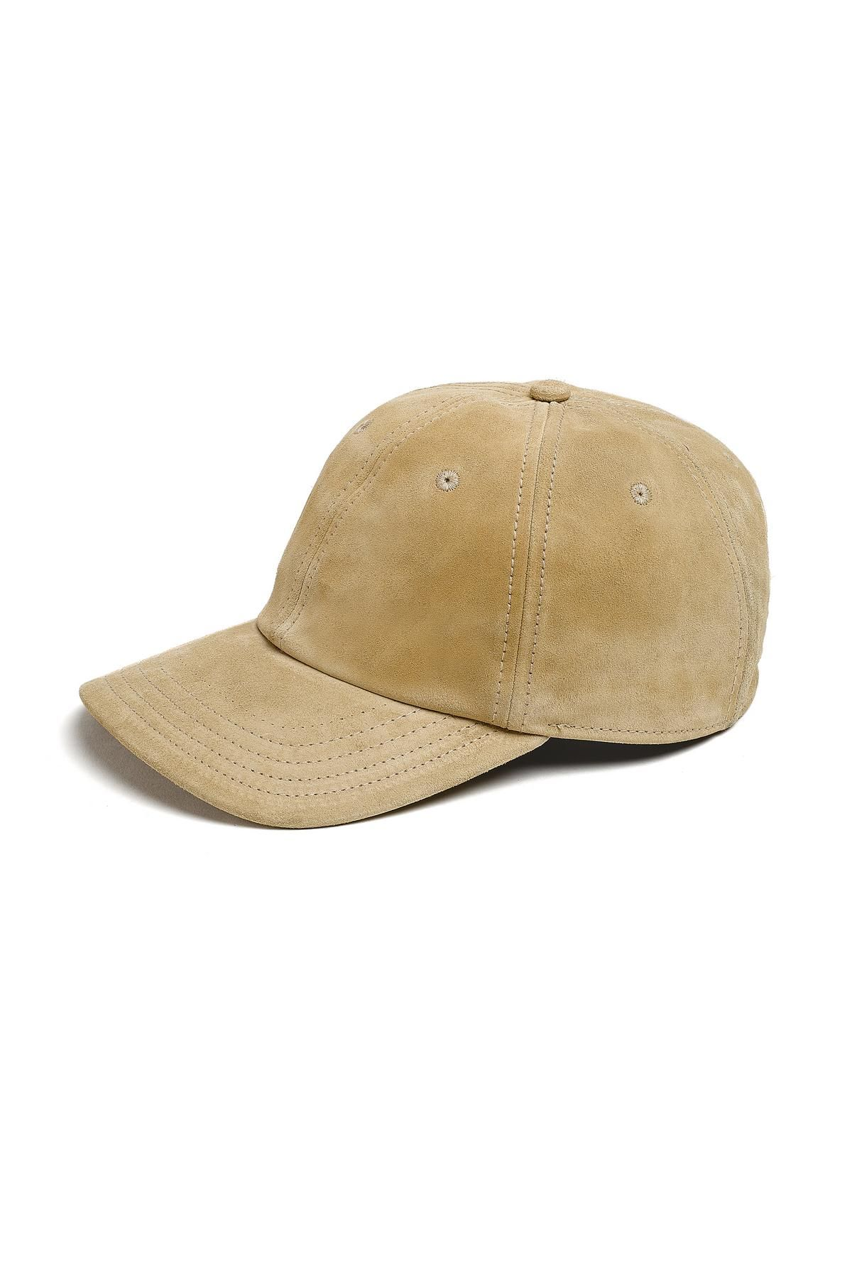 3a3bec15fea SUEDE BASEBALL CAP