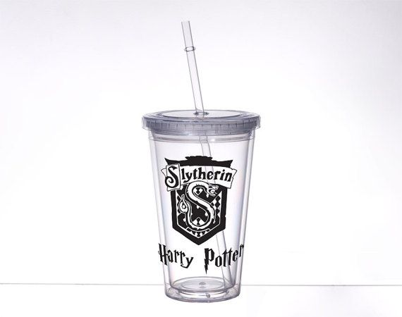 Slyherin Acrylic Tumbler Hot and Cold Drink with Design