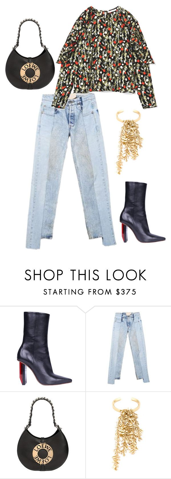 """""""Reflector"""" by deborarosa ❤ liked on Polyvore featuring Vetements and Loewe"""