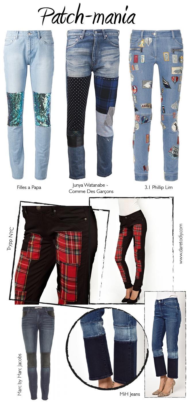 Inspiración DIY para customizar tus pantalones vaqueros | Costura ...