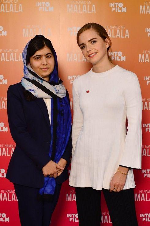 エマ ワトソン マララ ユサフザイとフェミニズムを語る エマ ワトソン フェミニズム ノーベル平和賞