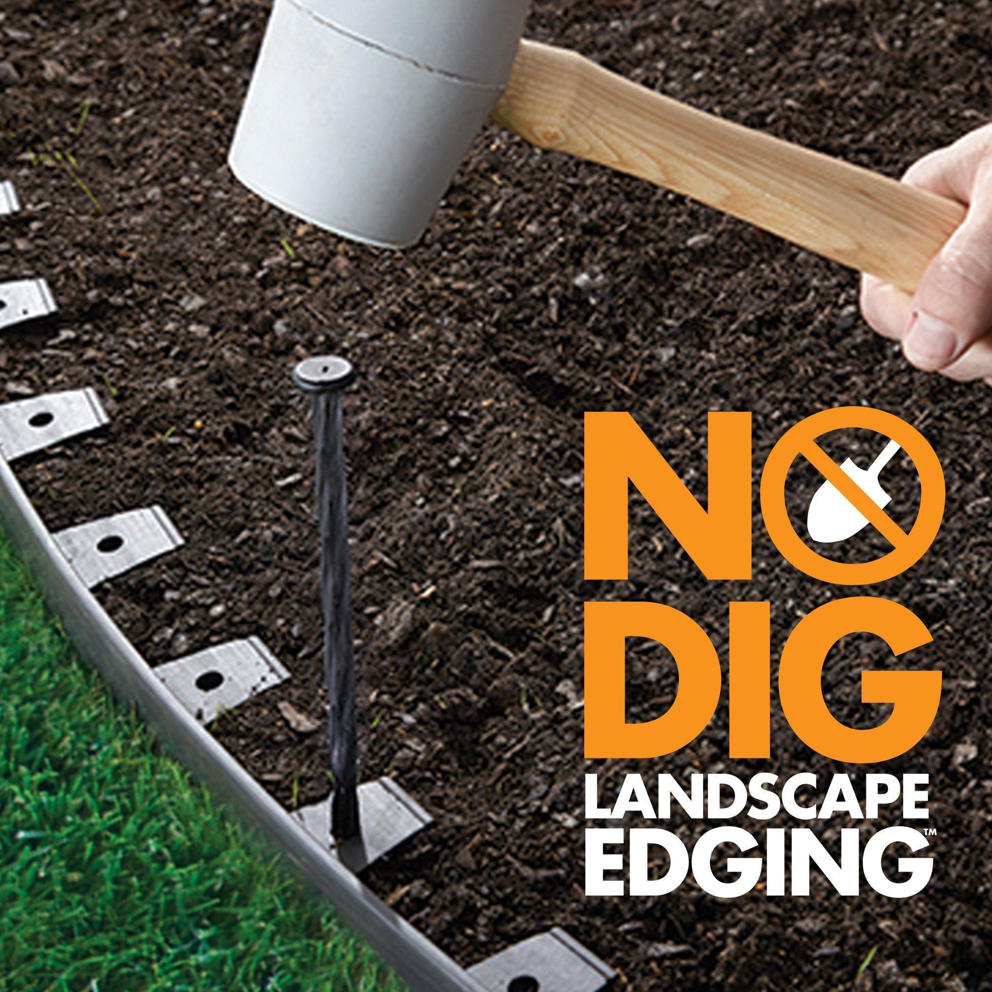 Dimex Easyflex Plastic No Dig Landscape Edging Kit Read More At