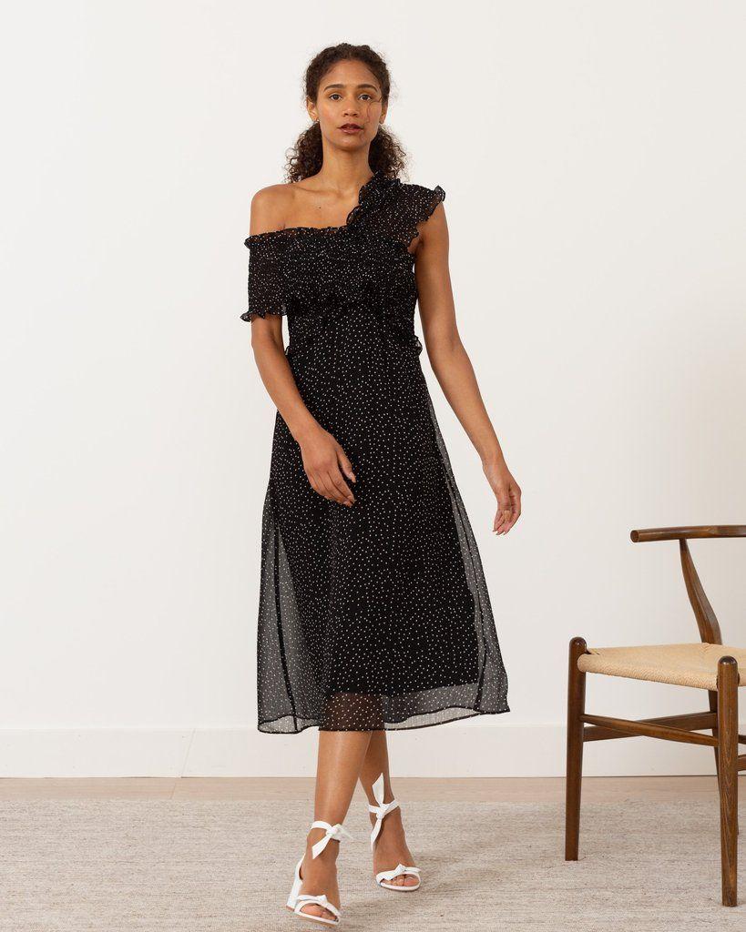 Modern Citizen Dovie Smocked Off Shoulder Dress 140 Dresses