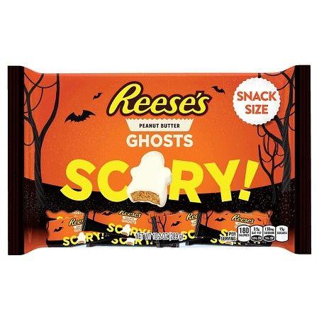 Reeses Peanut Butter Halloween Ghosts \u0027SCARY\u0027 102oz  Target Junk