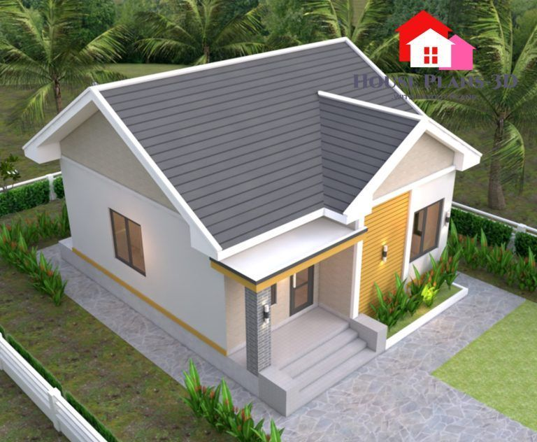 Petite And Cozy Two Bedroom Bungalow Pinoy Eplans House Front Design Home Design Plans House Design