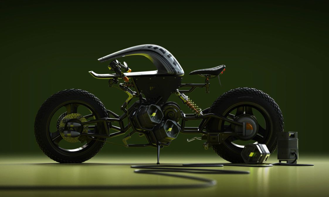 Electric Motorcycle Concept From Los Angeles