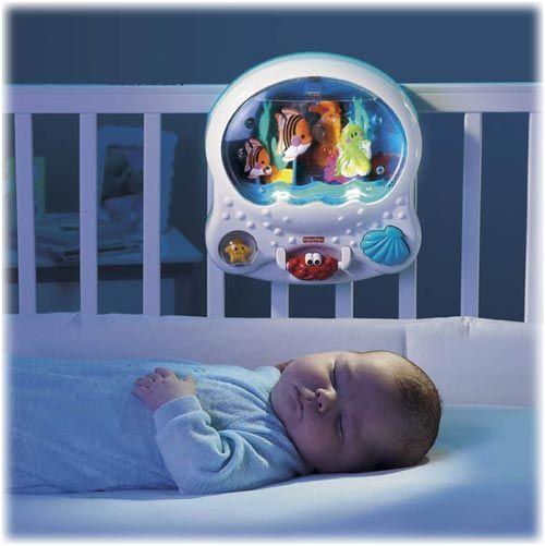 Baby Bed Ocean Wonders Aquarium Fisher Price This Is In