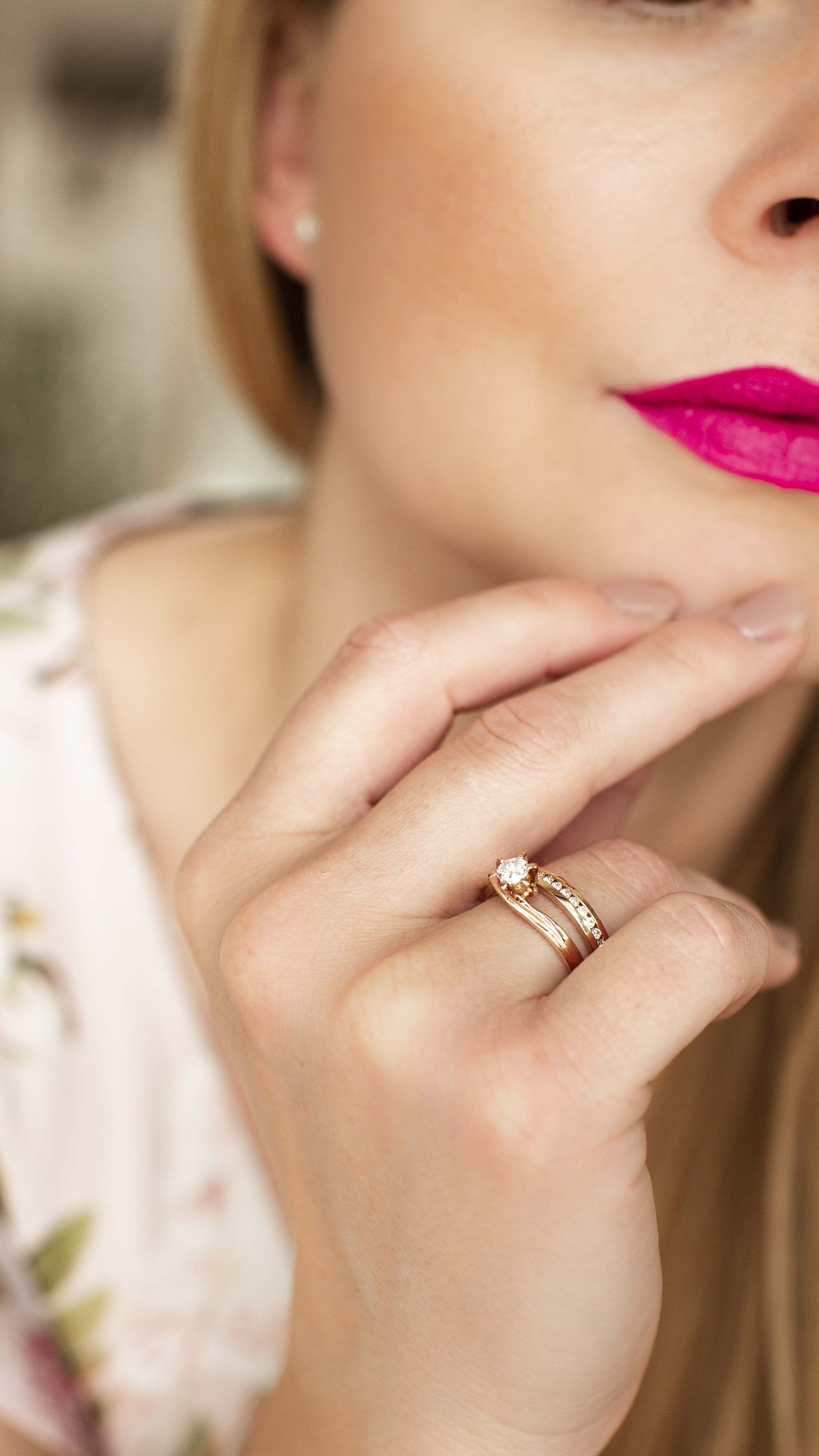 Verlobungsring Rosegold Ring Verlobung Verlobungsring Verlobung