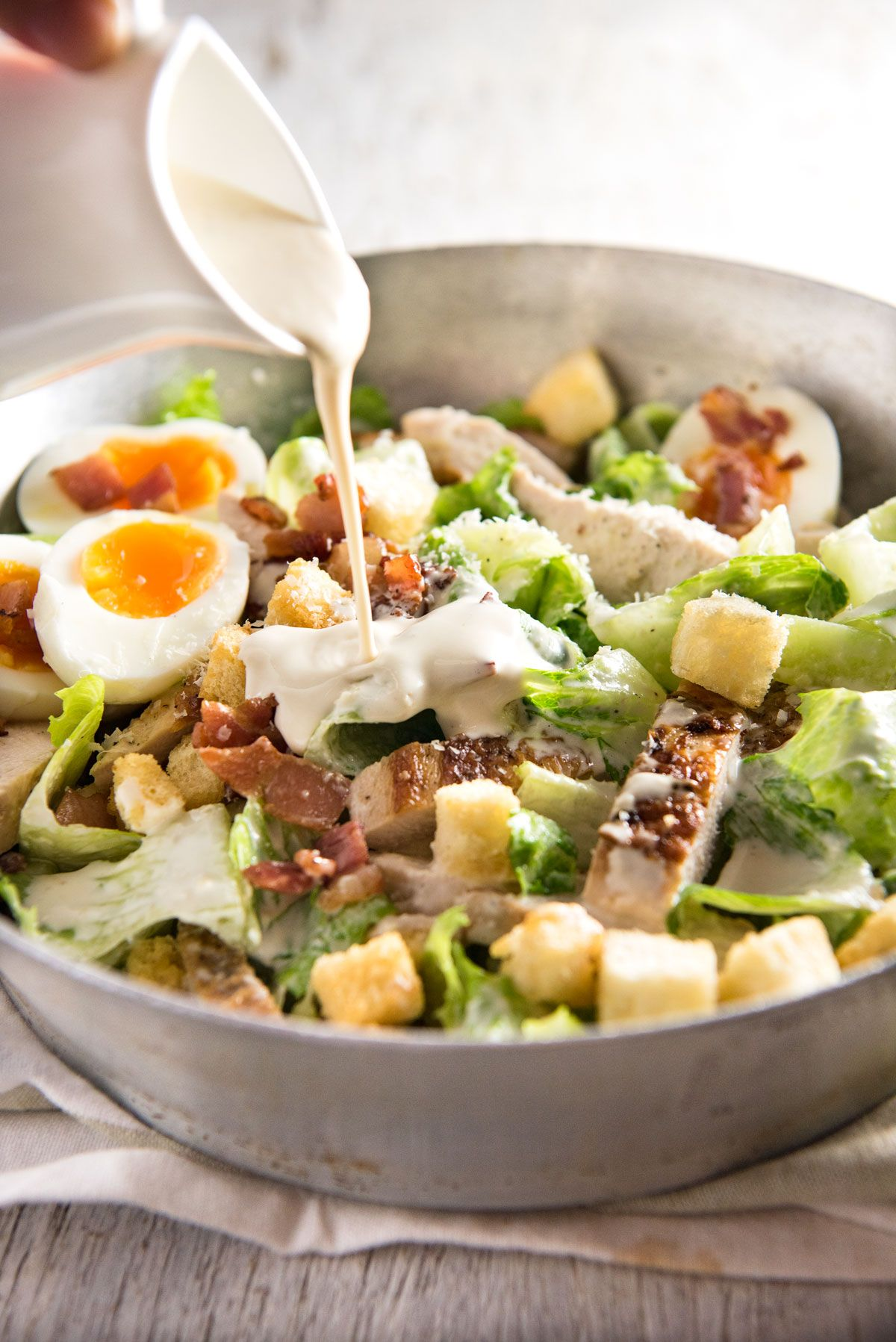 Chicken Caesar Salad Recipe Favorite Recipes Pinterest