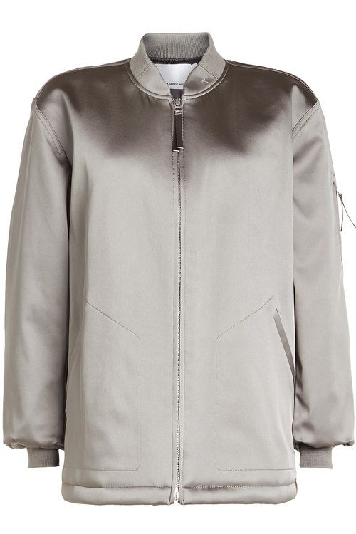 T BY ALEXANDER WANG Oversized Nylon Jacket. #tbyalexanderwang #cloth #