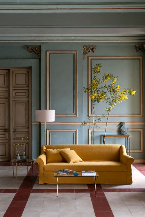 Are You Ready to Decorate with Mustard Yellow? – Town & Country Living
