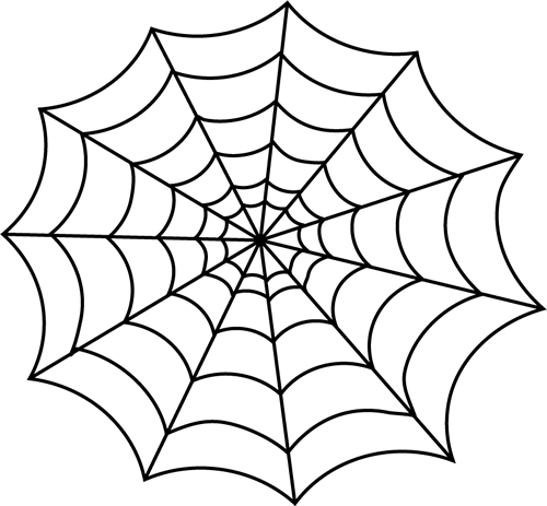 Black And White Spider Web Halloween Spider Web Halloween Spider Spider Web