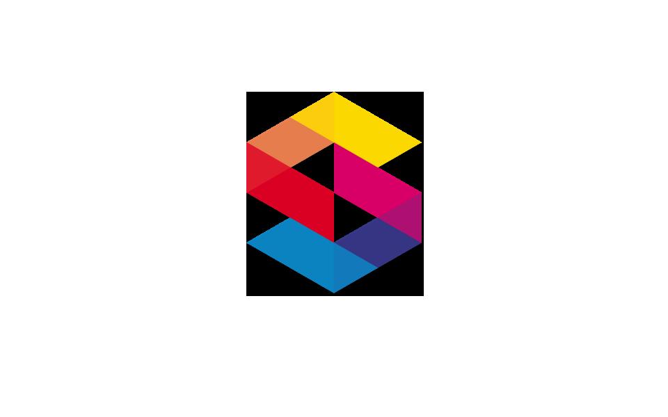 Logo Geometric Color Geometric Logo S Logo Design