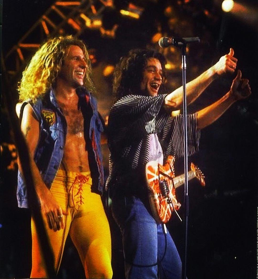 Vh Vanhalen Davidleeroth Dlr Diamonddave Eddievanhalen Evh Michaelanthony Alexvanhalen Sammyhagar Rocknr Van Halen Eddie Van Halen Heavy Metal Music
