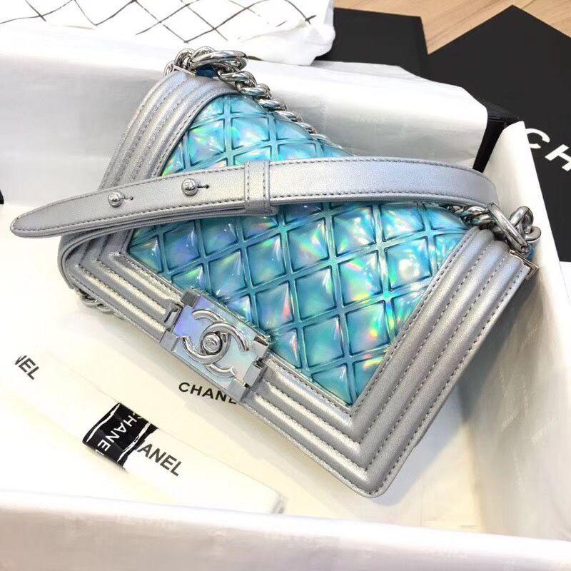 da94b434a7fa Chanel S/S18 'Mermaid' Boy Chanel #Chanelhandbags | Chanel handbags in 2019  | Chanel handbags, Chanel, Chanel boy