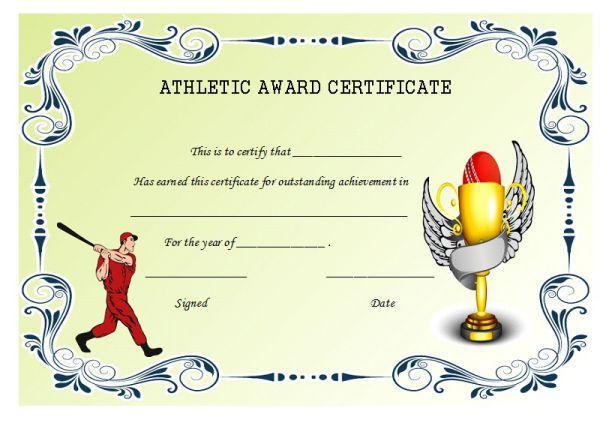 Certificatesoftball7 Softball Certificate Templates Pinterest