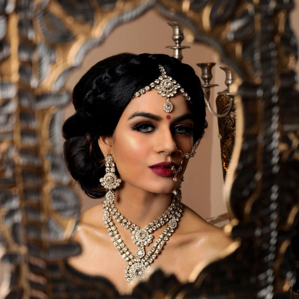 bridal hair & makeup artist from london, surrey. completed asian