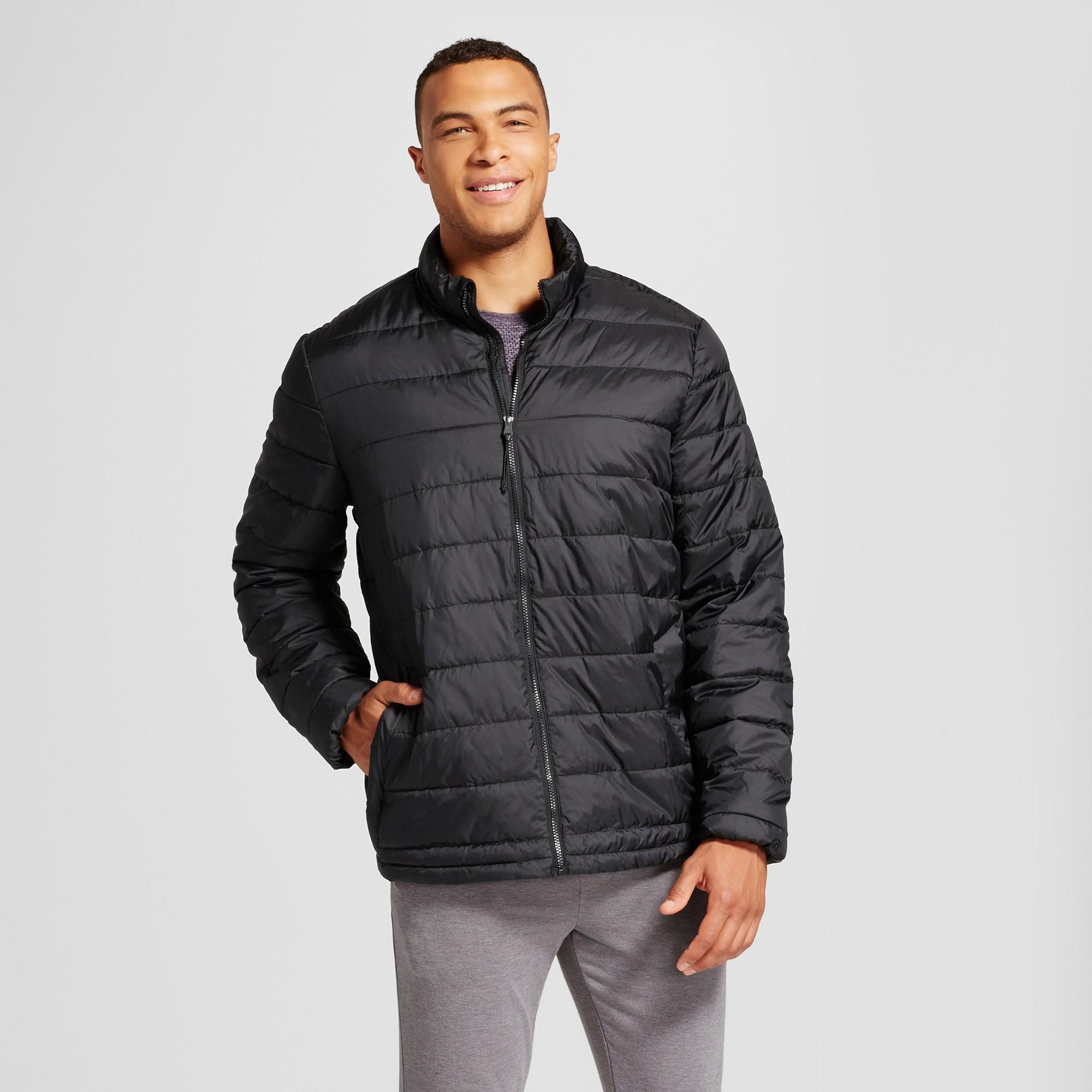 Men S Big Tall Lightweight Puffer Jacket C9 Champion Black 4xb Mens Big And Tall Puffer Jackets Jackets [ 2000 x 2000 Pixel ]