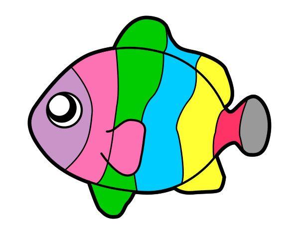 Pez Payaso Animales El Mar Pintado Por Glendasans 9775230 Jpg 600 470 Peces De Colores Dibujos Pez Para Colorear Imagenes Coloridas